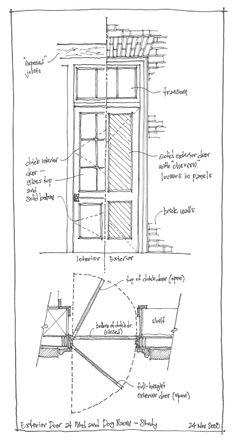 Door Detail Archi Detail In 2019 Doors Door Detail Door Design