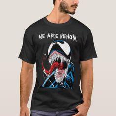 Classic Venom Lashing Tongue Comic Panel T-Shirt 92525e9d5