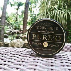 PURE'O ORGANIC POMADE (HEAVY HOLD)  Aroma Sandalwood (Kayu Cendana) yang hangat, segar dan klasik membuat rambut lebih sehat dan stylish. . >>Grab it fast only 75k!<< . - Hold 4.5/5 Shine 1.5/5 - Netto 100 gram - Kaku tinggi Klimis rendah - Free Sisir Saku  Order? SMS & WA : 082120040003 Bbm : 7EBCCCF9 Line : @pureopomade Fb : Pureo Pomade