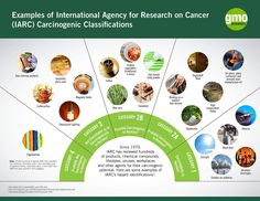 Have questions about IARC's carcinongenic classifications? The following infographic provides examples of various IARC hazard classifications.