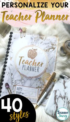 Design the perfect teacher binders and planners with 40 fabulous covers! Just click and start typing! Both Editable PowerPoint files and ready-to-go PDF files included! 6th Grade Activities, Teaching Activities, Teaching Kids, Teaching Resources, Teacher Hacks, Your Teacher, Teacher Gifts, Teacher Binder Covers, Teacher Planner