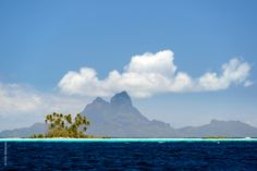 View of Bora Bora from Taha'a - Chris McLennan - Tahiti Tourisme info@blueashtravel.com, www.blueashtravel.com, 513-284-7676