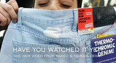 """""""The New denim Video of Naked and Famous Denim""""  http://www.denimfuture.com/watch-video/the-new-denim-video-of-naked-and-famous-denim"""