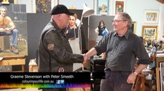 Colour in Your Life featured artist Peter Smeeth appeared on Colour In Your Life Season Eleven See his online episode here. Watercolors, Tv Shows, Oil, Colour, Portrait, Drawings, Painting, Color, Water Colors