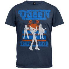 Queen - Tour 76 Soft T-Shirt | OldGlory.com