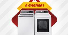 Gagnez un ensemble laveuse/sécheuse Samsung. Fin le 23 mars.  http://rienquedugratuit.ca/concours/gagnez-un-ensemble-laveusesecheuse-samsung/