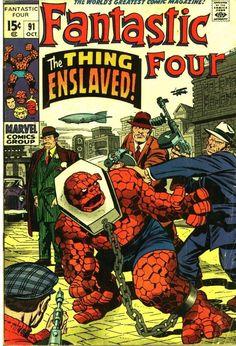 FantasticFour91-00.jpg (770×1129), f4, marvel comics, fantastic four, the thing, gladiator