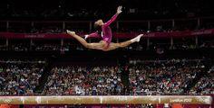 La gimnasta Gabrielle Douglas y la foto de una proeza