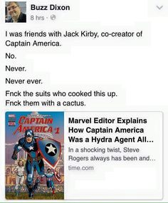 The new Captain America is problematic