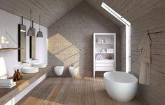 Banheira autônoma de Livingtec® Coleção Shui Comfort by Ceramica Cielo | design Paolo D'Arrigo