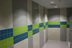 Mata - Garcia Architects Sketchbook: Angela G. Toilet Tiles Design, Tile Design, Pattern Design, Kids Toilet, Toilet Room, Architect Sketchbook, Toilette Design, School Bathroom, Restroom Design