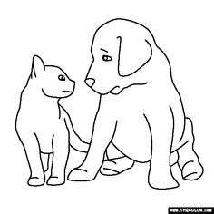 baby animals online coloring pages