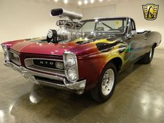 1966 Pontiac GTO Pro Street Convertible hot rod rods muscle ...