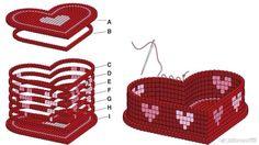 perler beads disenos en español | Re: duda con las figuras 3D - perles à repasser : http://www.creactivites.com/229-perles-a-repasser