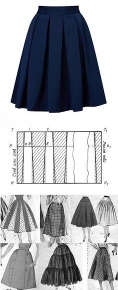 f7012697b4c юбка в сборку  лучшие изображения (10)