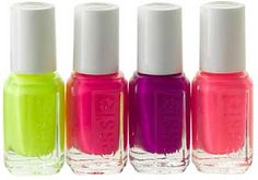 neon nail polish - perfect for summer!