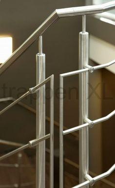 Overgang van #balustrade naar #leuning van de #trap