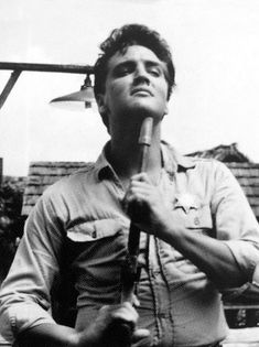 "Elvis Presley (aka Toby Kwimper) is pictured on the set of his ninth movie Follow That Dream in Florida - July/ August 1961. The movie opened nationwide on May 23, 1962. (Thnx to Anthony King who uploaded this image to the ELVIS PICTURES group on fb.) Also take a look inside the FTD book ""Elvis Presley: Summer of '61"". https://www.youtube.com/watch?v=tNJGDic7Kmc&index=2&list=PLv6QfiNXRlk0o4g62SwwQOsWJPEeW_oP7"