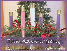 """""""The Advent Song"""" for kids. Get across the idea of waiting. :-)"""