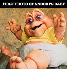 First picture of Snookies baby
