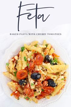 Baked Feta Pasta with Cherry Tomatoes -TikTok Recipe - Frugal Mom Eh! Tomato Pasta Recipe, Feta Pasta, Easy Pasta Recipes, Cherry Tomato Recipes, Cherry Tomato Pasta, Cherry Tomatoes, Cheeseburger Pasta, Pasta Dinners