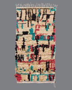 Vintage Moroccan Azilal Carpet AZ38