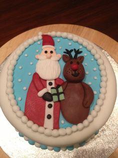 Christmas cake  Cake by Veronika