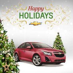 #Chevrolet #Cruze #HappyHolidays #JerrySeinerChevrolet #ChevyGivesMore