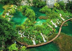 The water from terraced lakes cascades through Croatia's Plitvice Lakes National Park © Kelly Cheng / Getty Images