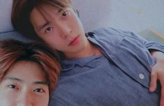 Two populer people of Neo University. They're couple, cute and happy couple. Nct 127, Nct Doyoung, Korean Couple, Jung Jaehyun, Jaehyun Nct, Tsundere, Boyfriend Material, Nct Dream, Monsta X