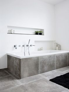 stone on stone the new wellness temple luxury stone temple wellness Stone on stoneThe new wellness temple Luxury Stone temple wellness badezimmerideen Wall Design, Design Case, House Design, Bad Inspiration, Bathroom Inspiration, Bathroom Bath, Small Bathroom, Concrete Bathroom, Bath Room