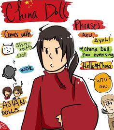 Hetalia Doll: China