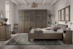 De sfeervolle en warme slaapkamer Classic zorgt voor de ultieme rust in uw slaapkamer. Te verkrijgen bij Country Life Style in de kleuren wit en elephant. Divider, Relax, House, Room, Furniture, Country Living, Home Decor, Google, Homemade Home Decor