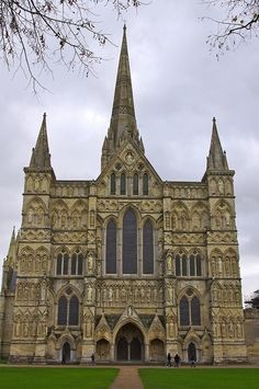 Salisbury Cathedral in England 1220-1258, contains the oldest working Clock 1386 and the best surviving original four copies of the Magna Carta