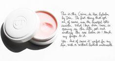 Dior rose lip balm