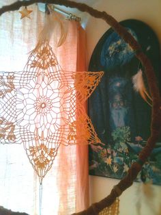 Beautiful openwork! By Rachael Rice, via Flickr  #crochet #star #motif