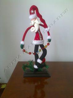 Christmas Crafts, Xmas, Christmas Ornaments, Elf, Diy And Crafts, Santa, Dolls, Cool Stuff, Halloween