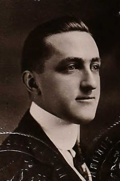 Dwight Carlton Harris (1884-1969) brought with him an engagement ring and a custom life belt.