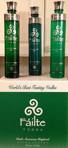FÁILTE VODKA  - The World's Best Tasting Vodka