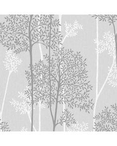 56 sq. ft. Gray Eternal Wallpaper