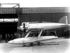 Schneider Trophy Plane by amphalon