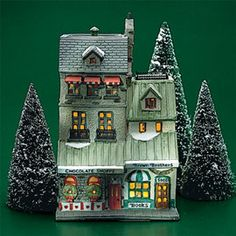 "Department 56: Products - ""Chocolate Shoppe"" - View Lighted Buildings"