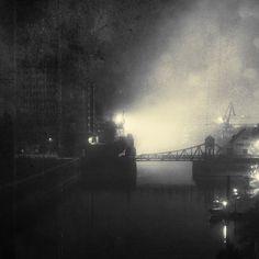 Sinister Landscapes - The Industrial Port by bliXX-a.deviantart.com on @DeviantArt