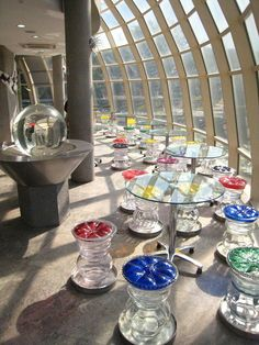 Glass Museum @ Jeju island Korea Glass Museum, Jeju Island, South Korea, Scenery, Table Decorations, Travel, Home Decor, Viajes, Decoration Home