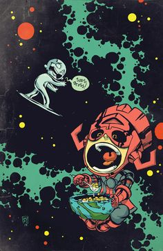 Silver Surfer #1 Young Variant Skottie Young