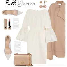 Street Style Trend: Bell Sleeves by bliznec on Polyvore featuring moda, Roksanda, Chloé, Gianvito Rossi, Tory Burch, Simply Vera, Marc Jacobs, polyvoreeditorial, polyvorecontest and bellsleeves