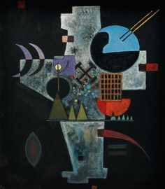 Wassily Kandinsky - Cross, 1926. LWL-Museum of Art and Culture, Munster, Germany.