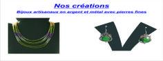 Bijoux indiens en argent et pierres naturelles.