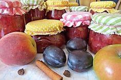 Další varianta na stále více oblíbený a populární pečený čaj. Kombinace ovoce podle tohoto receptu (čaj připravený z broskví, švestek a jablek) je prostě skvělá! Plum, Fruit, How To Make, Recipes, Food, Preserve, Syrup, Rezepte, Essen