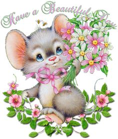 Have a beautiful day love cute friendship spring animated friend friendship quote greeting hugs and kisses for you friends and family greeting